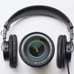 Electronic audio and video